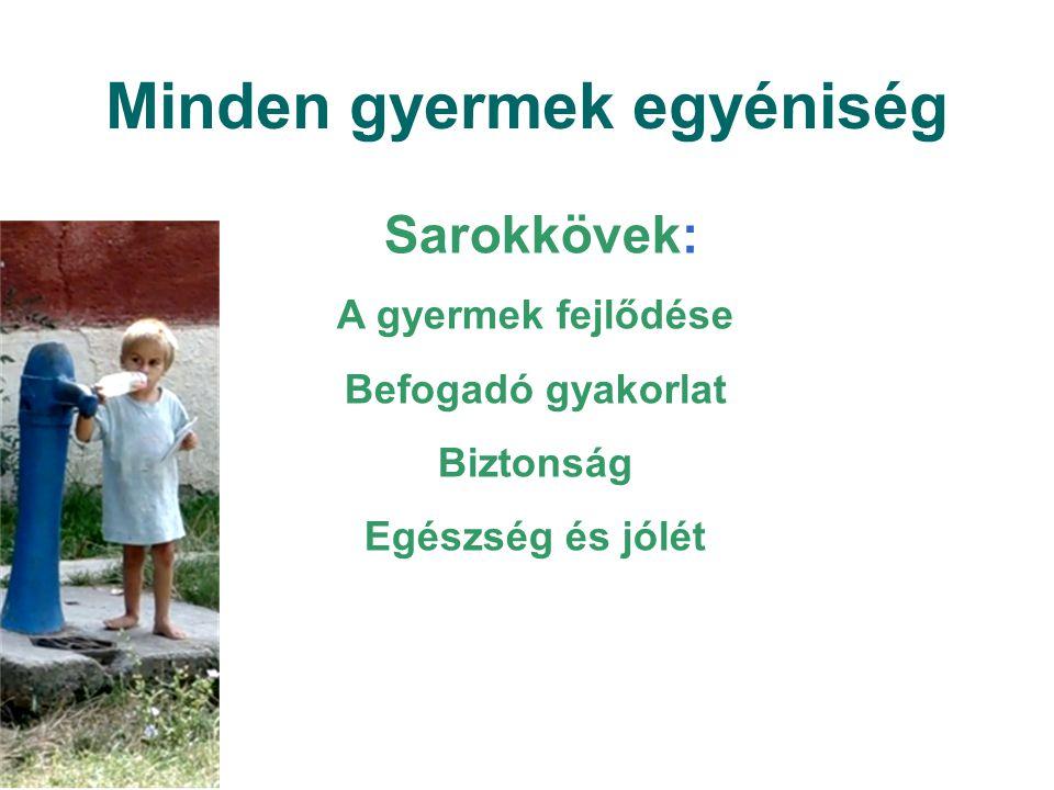 Minden gyermek egyéniség A gyermek fejlődése: A csecsemők és a kisgyermekek eltérő módon és más-más ütemben fejlődnek.