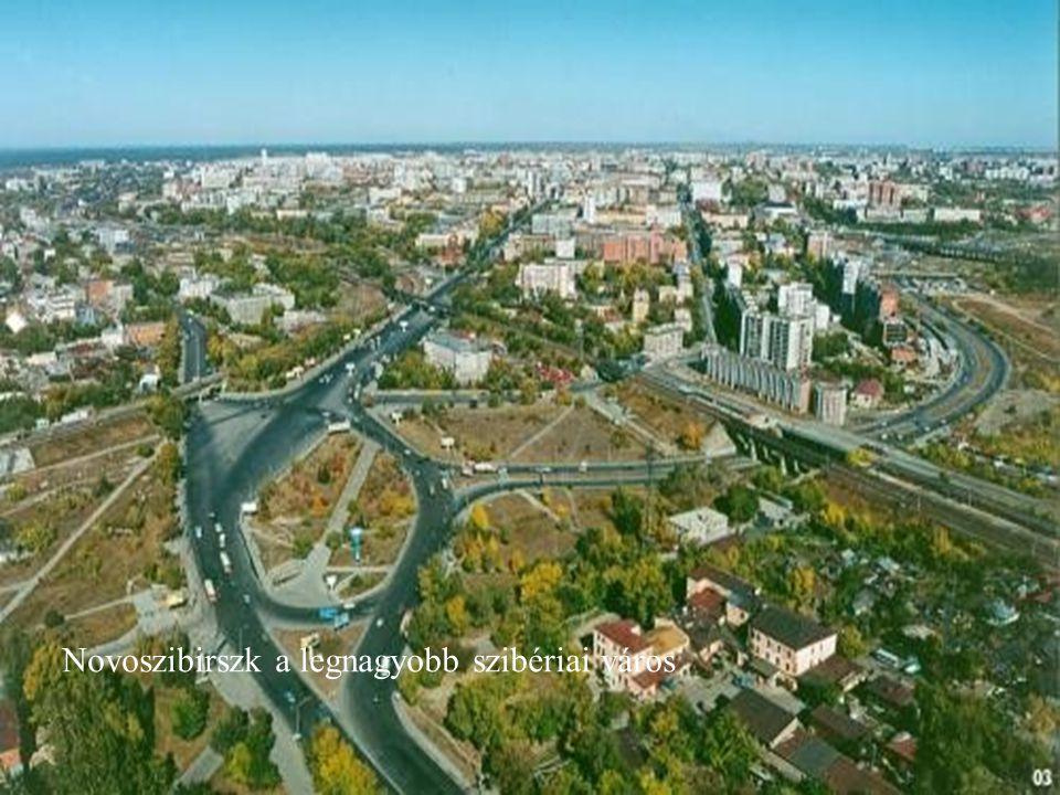 Novoszibirszk a legnagyobb szibériai város