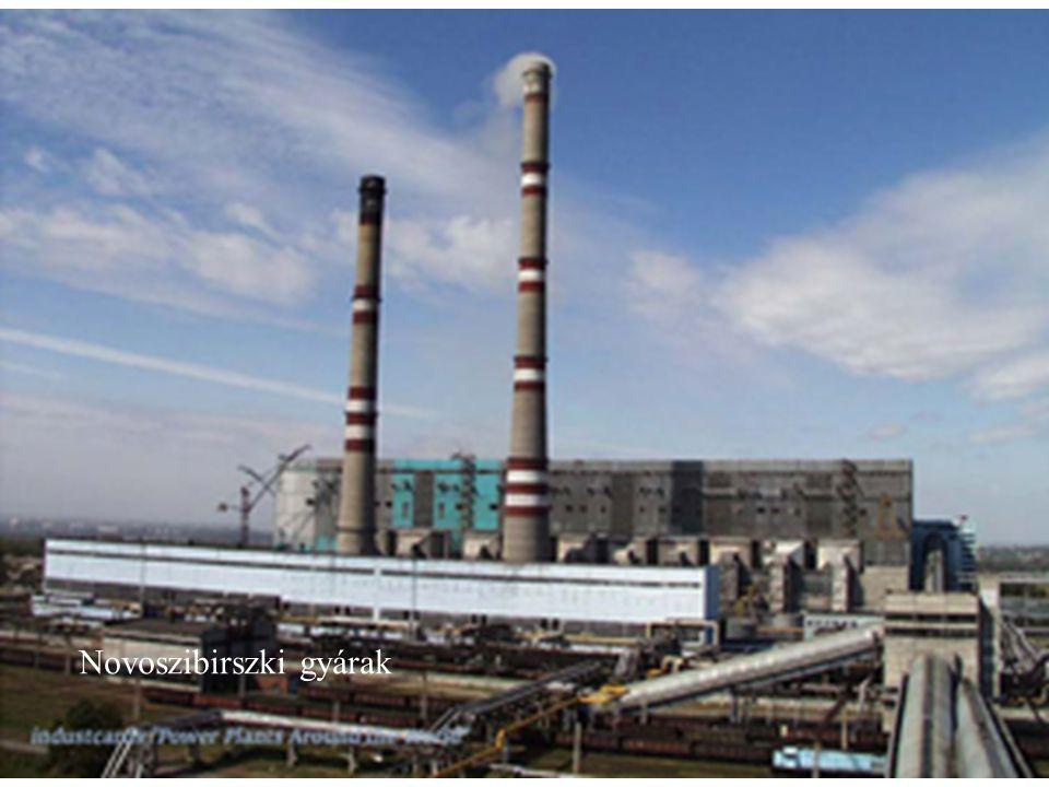 Novoszibirszki gyárak