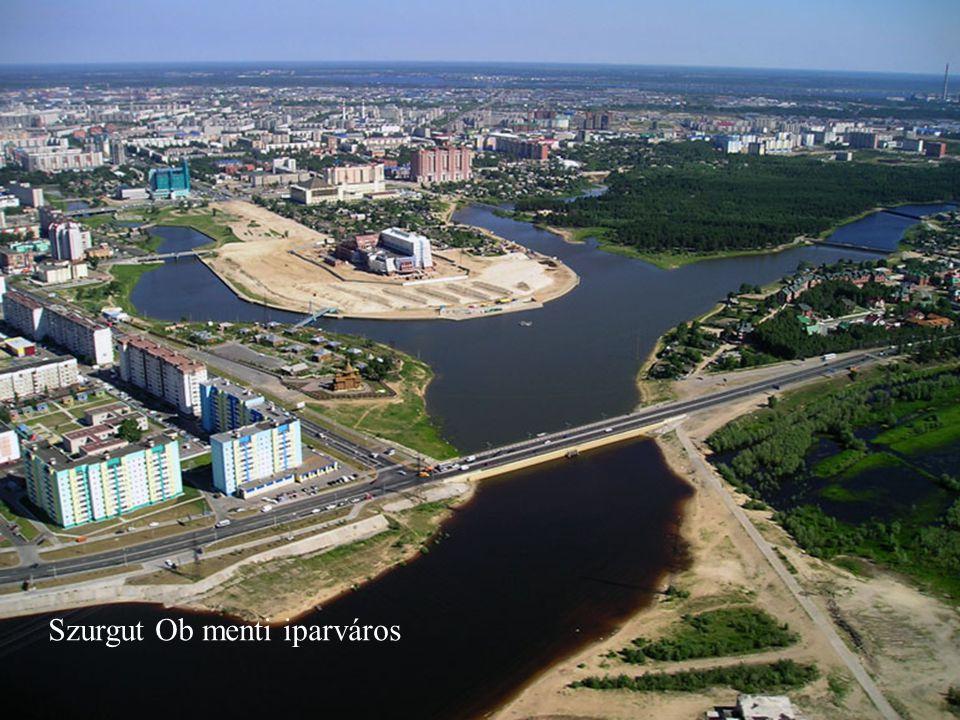 Szurgut Ob menti iparváros