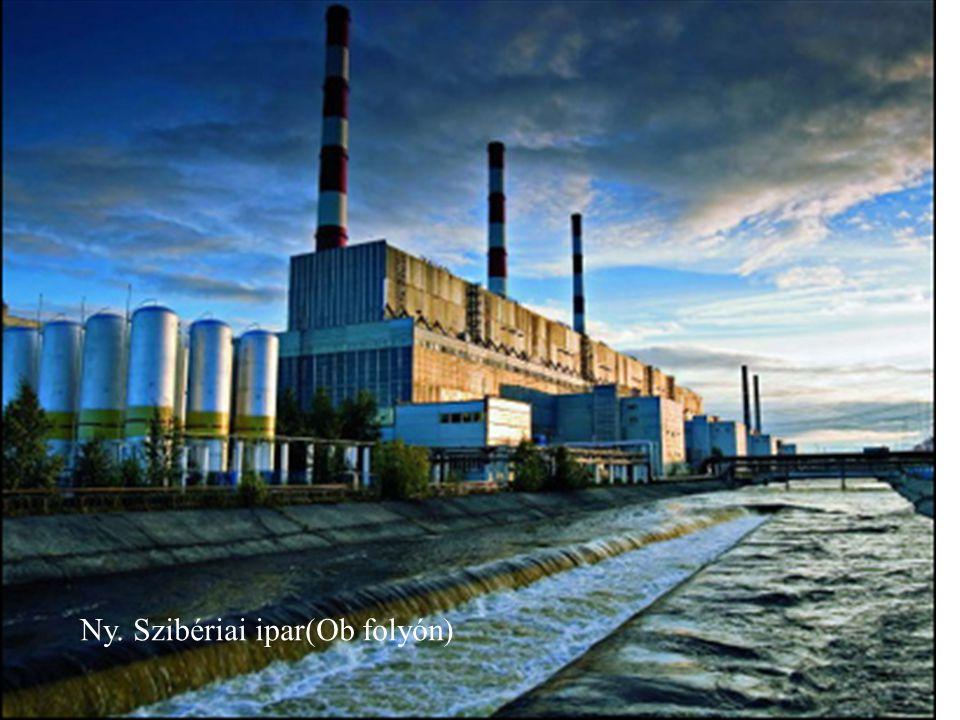 Ny. Szibériai ipar(Ob folyón)