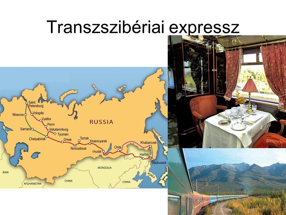 Transzszibériai expressz