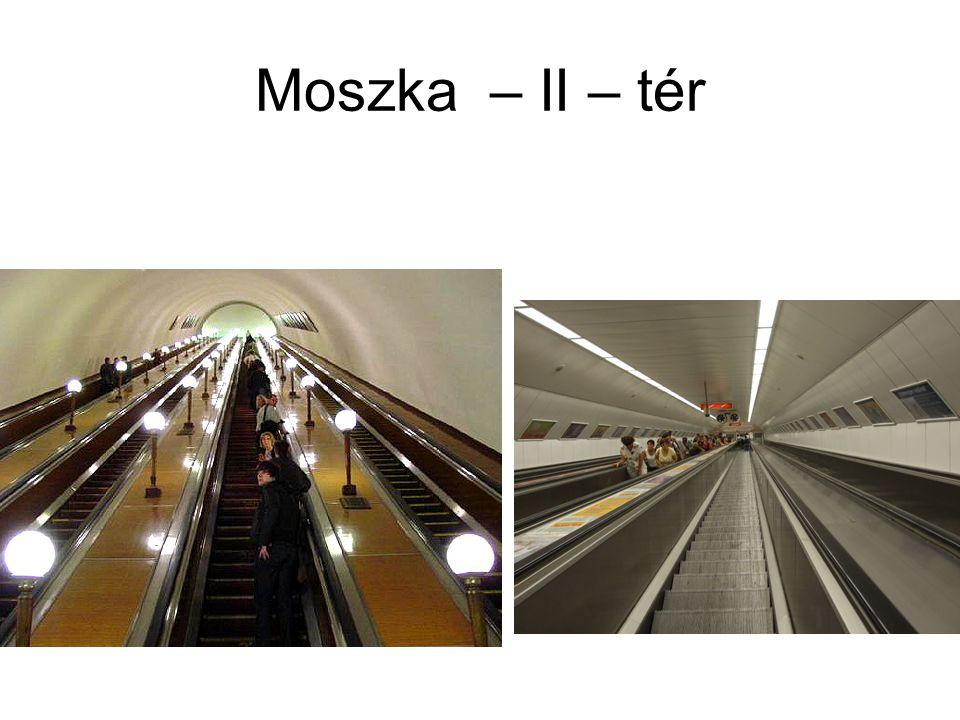 Moszka – II – tér