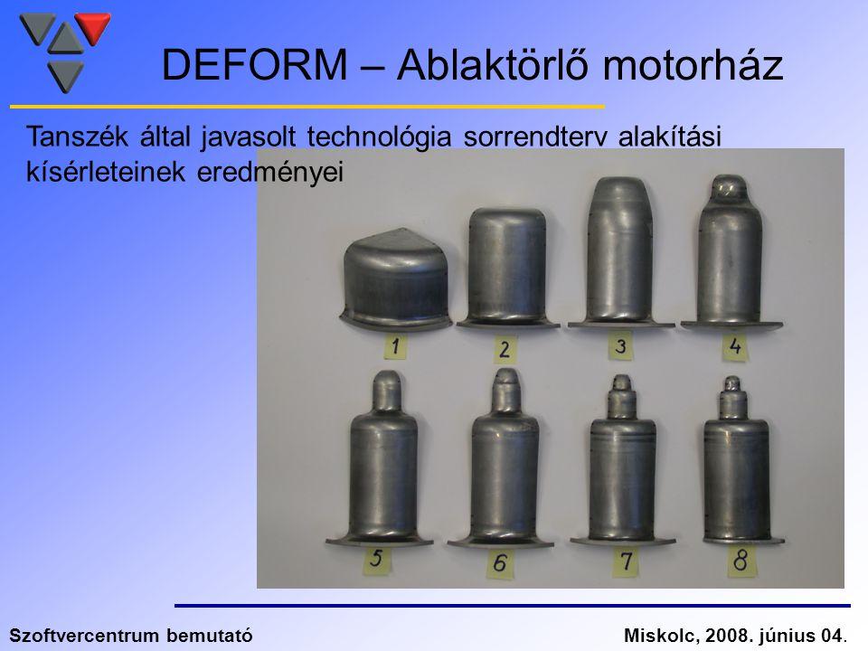 Szoftvercentrum bemutatóMiskolc, 2008. június 04.