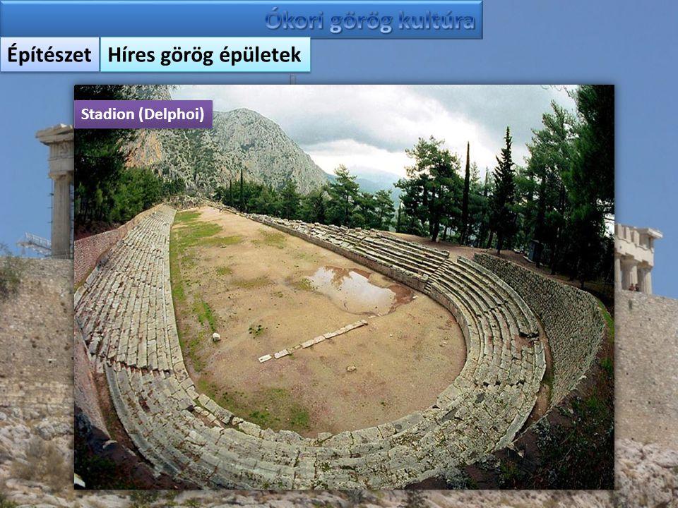 Építészet Híres görög épületek Stadion (Delphoi)