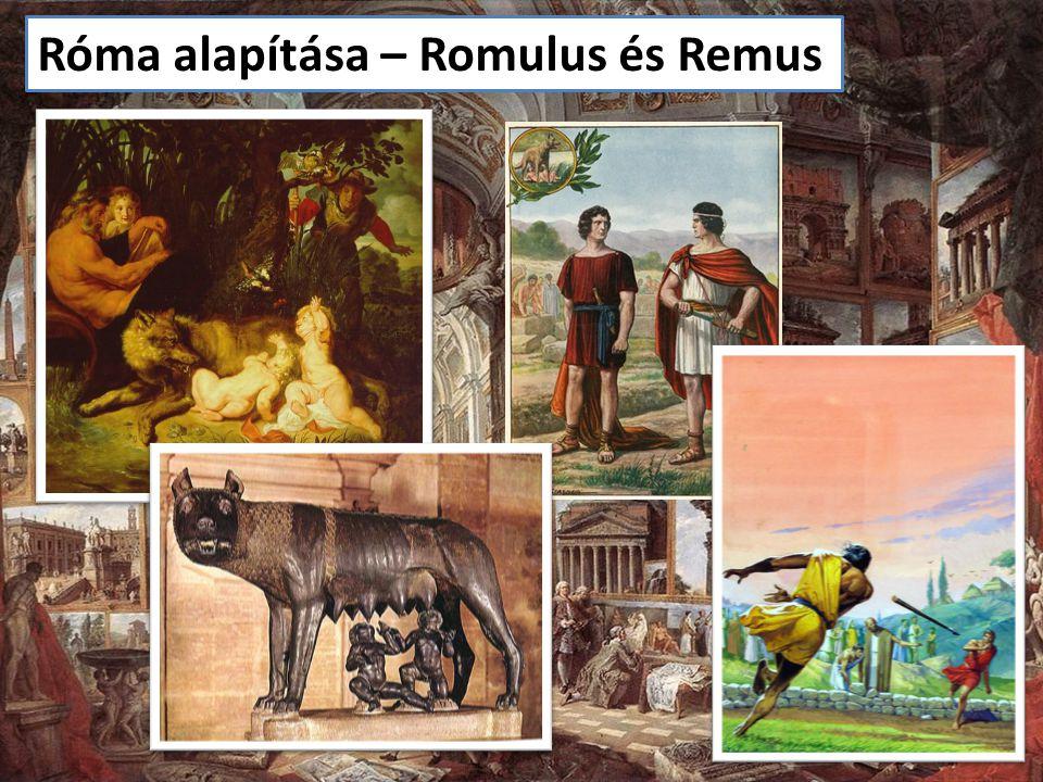 Róma alapítása – Romulus és Remus