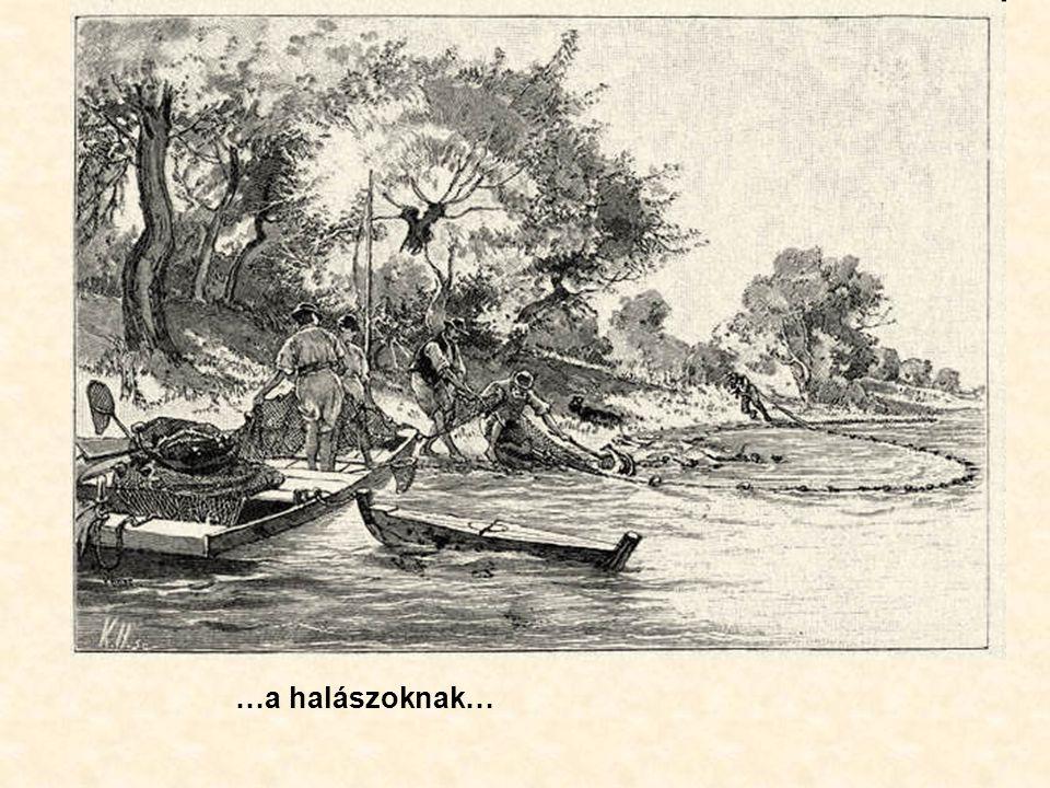 …a halászoknak…
