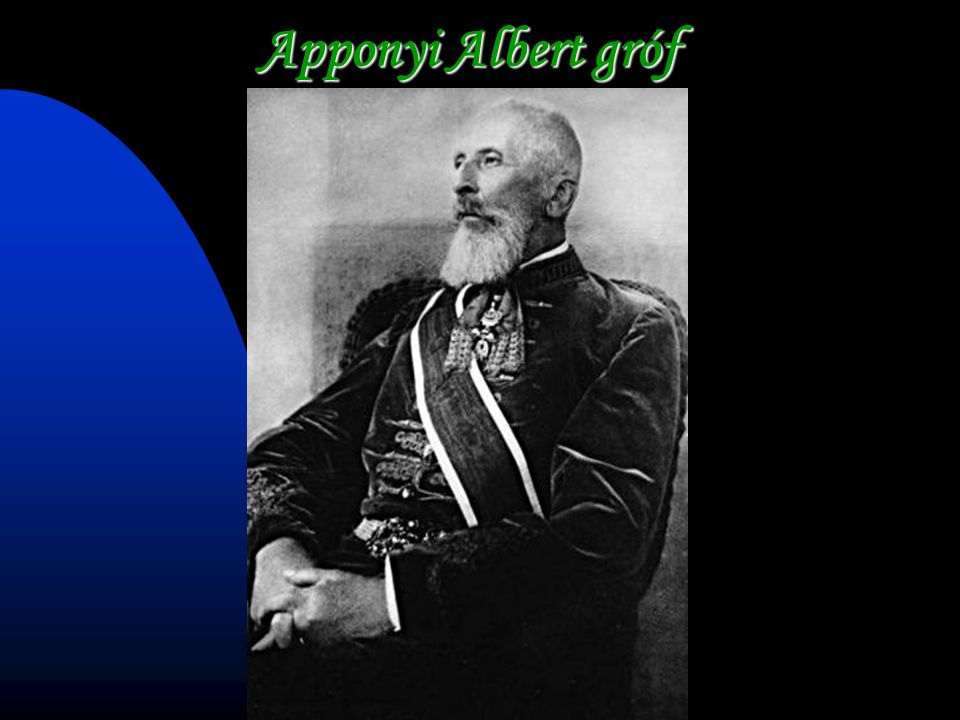 Apponyi Albert gróf