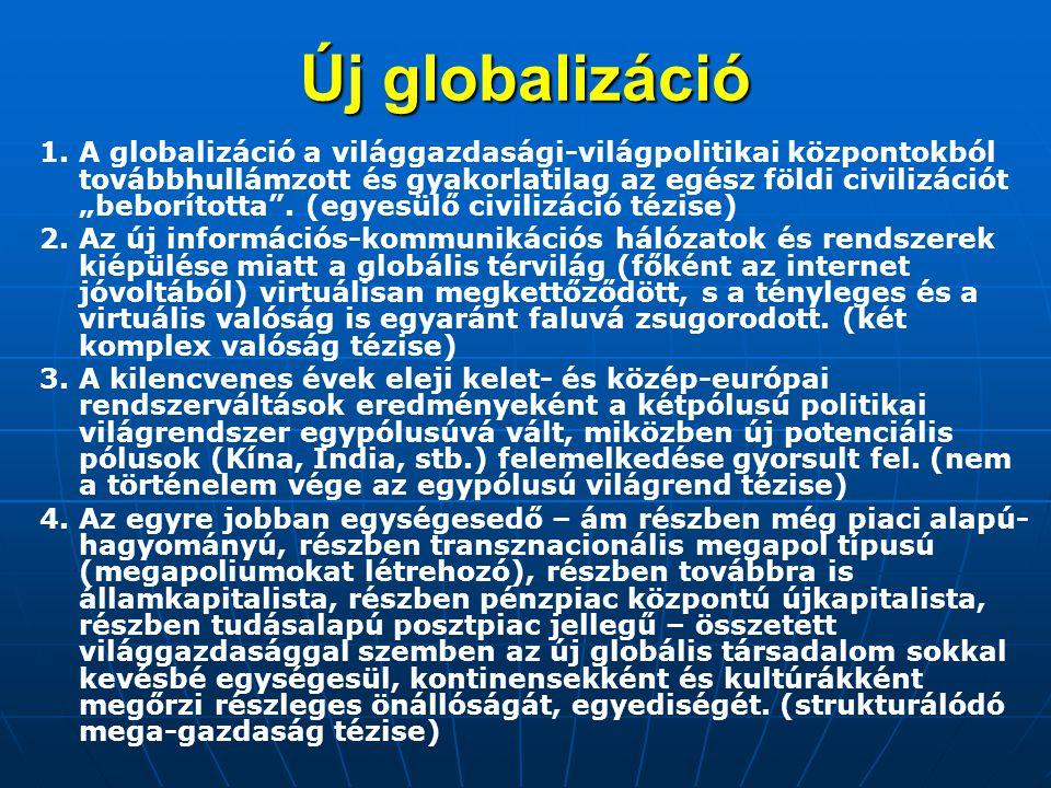 Globális forgatókönyvek 4.A tudáskor alternatívái 1.