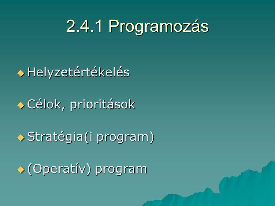 2.3 NFT  Célja: –Hosszú távú: életminőség javítása –Általános cél: egy főre jutó jövedelem növelése, elmaradás csökkentése  Intézkedések: –ROP: modernizáció, kohézió, foglalkoztatás –HEFOP: foglalkoztatás szintje, munkaerő versenyképessége –KIOP: környezeti állapot javítása, infrastruktúra fejlesztése –AVOP: mezőgazdasági modernizáció, hatékonyságnövelés –GVOP: gazdasági-társadalmi szempontból elmaradott térségek, település-részek felzárkózása