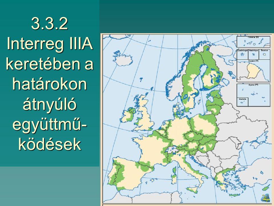 3.3.1 Az 1. és 2. célkitűzés keretében hozzáférhető strukturális források a 2004-06-ban