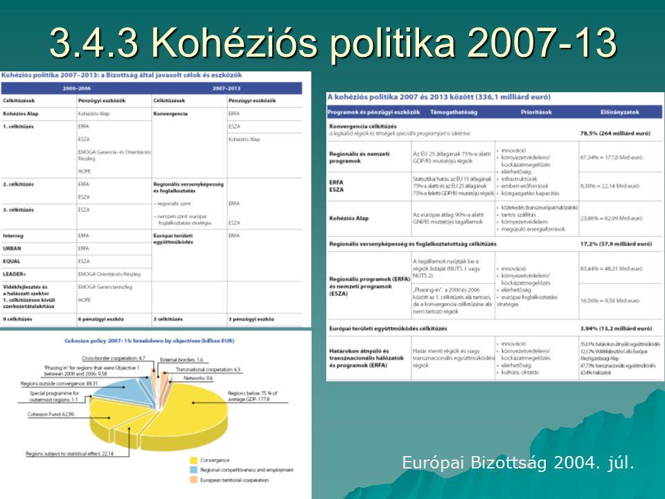 3.4.2 Strukturális alapok 2004-06 2/3-a