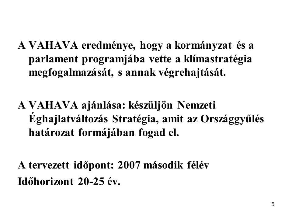"""6 KLIMA KKT Jedlik Ányos NKFP6-00079/2005 """"Felkészülés a klímaváltozásra: környezet – kockázat –társadalom projekt a VAHAVA kutatási, innovációs folytatása (2006-2008) Konzorcium vezetője: Harnos Zsolt MHAS, Budapesti Corvinus Egyetem, Matematika és Informatika Tanszék Tudományos társelnök: Láng István Honlap: www.uni-corvinus.hu/mit"""