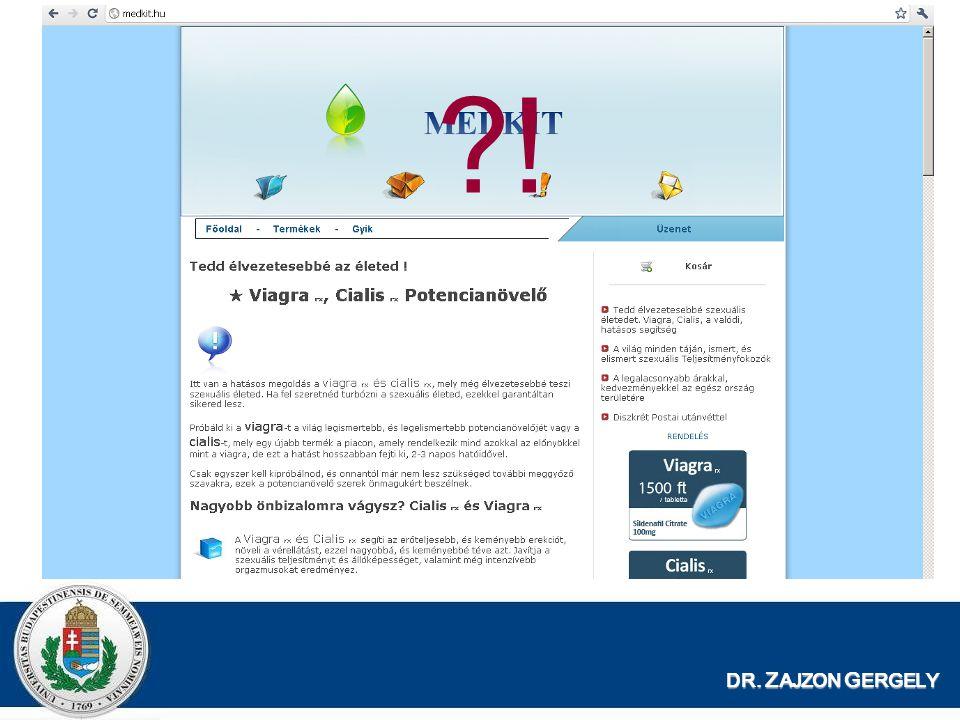 DR.Z AJZON G ERGELY PuPHA Miért közhiteles. -Jogszabályban rögzített adatszerkezet –53/2007.