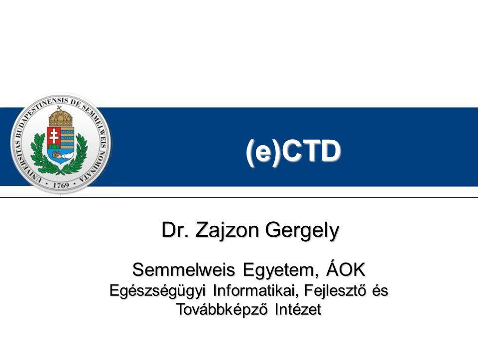 (e)CTD Dr.