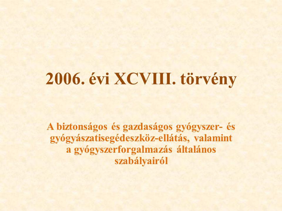 2006.évi XCVIII.