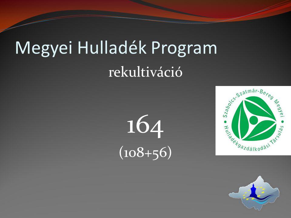 Megyei Hulladék Program rekultiváció 164 (108+56)