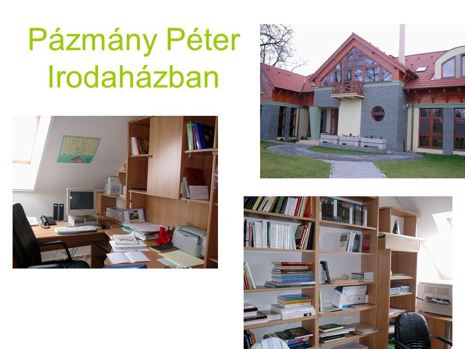 Pázmány Péter Irodaházban