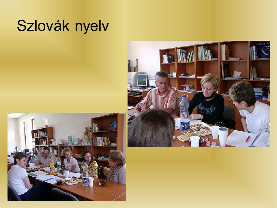 Szlovák nyelv