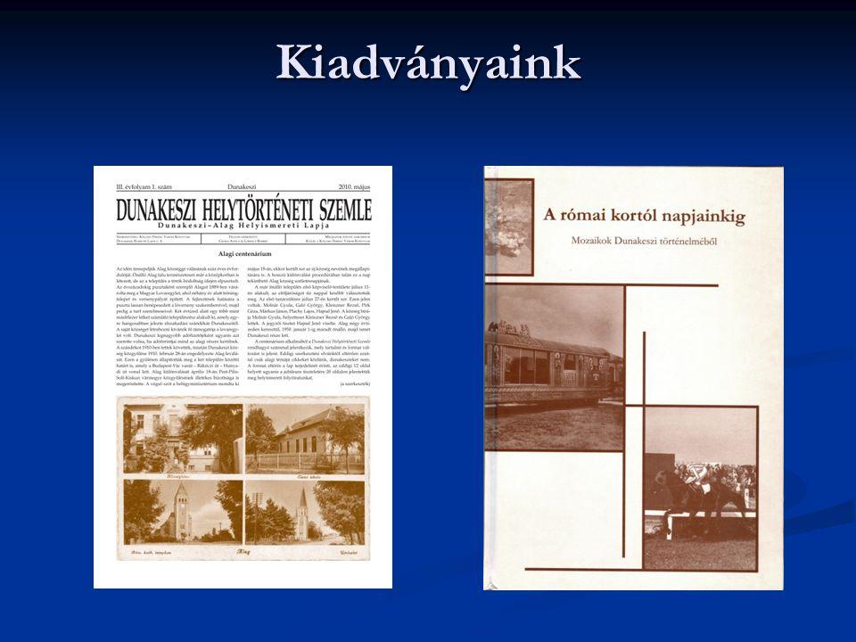 TÁMOP-3.2.4-09/1/KMR-2010-0004 A dunakeszi Kölcsey Ferenc Városi Könyvtár szolgáltatás fejlesztése, képzési szerepének erősítése Főbb céljaink röviden megfogalmazva: Főbb céljaink röviden megfogalmazva: adatbázisok építése adatbázisok építése web 2.0-s honlap készítése web 2.0-s honlap készítése az olvasáskultúra fejlesztése az olvasáskultúra fejlesztése 24 órás online szolgáltatások megvalósítása 24 órás online szolgáltatások megvalósítása helytörténeti kutatás és elektronikus közzététel helytörténeti kutatás és elektronikus közzététel könyvtárhasználat – információkeresés könyvtárhasználat – információkeresés e-tájékoztatás e-tájékoztatás könyvtárosok képzése könyvtárosok képzése