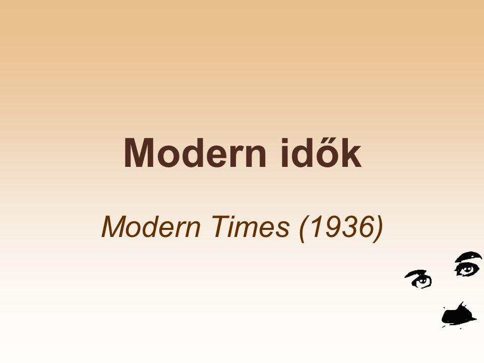 Modern idők Modern Times (1936)