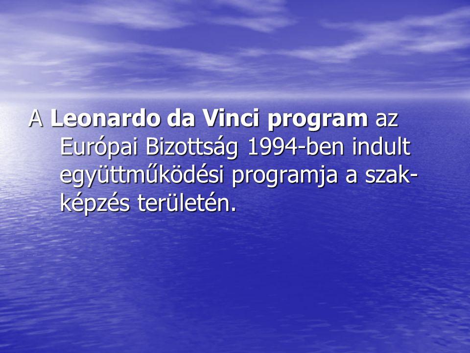 A Leonardo da Vinci program az Európai Bizottság 1994-ben indult együttműködési programja a szak- képzés területén.
