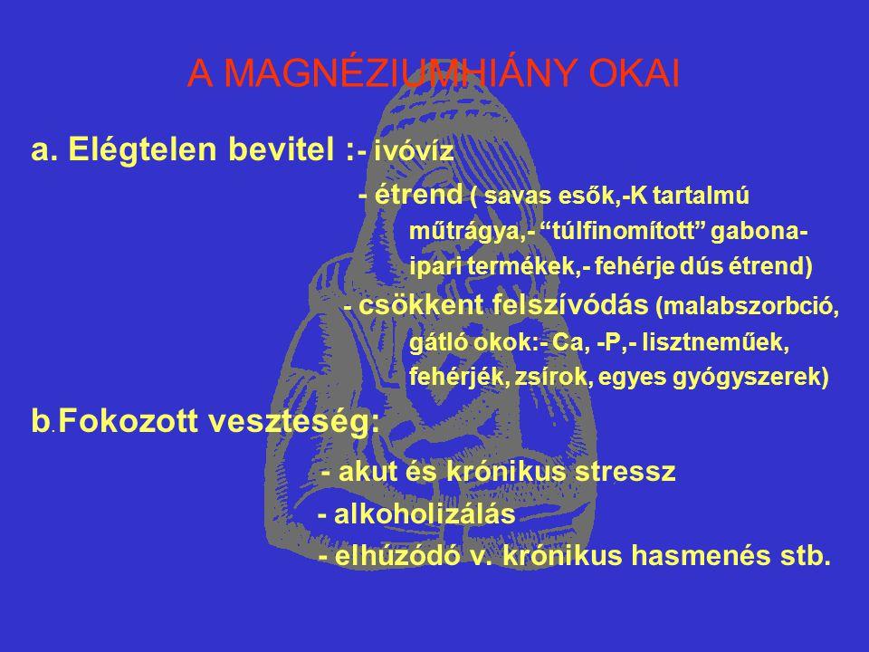 Mg és LÉGZŐSZERVI BETEGSÉGEK (6) Az alapkezelés mellett Mg-kezelést is alkalmaztunk : -az első 2-4 nap Mg-szulfát i.m.,a recidívák megelőzése érdekében a kezelést per oralisan folytattuk !!!.