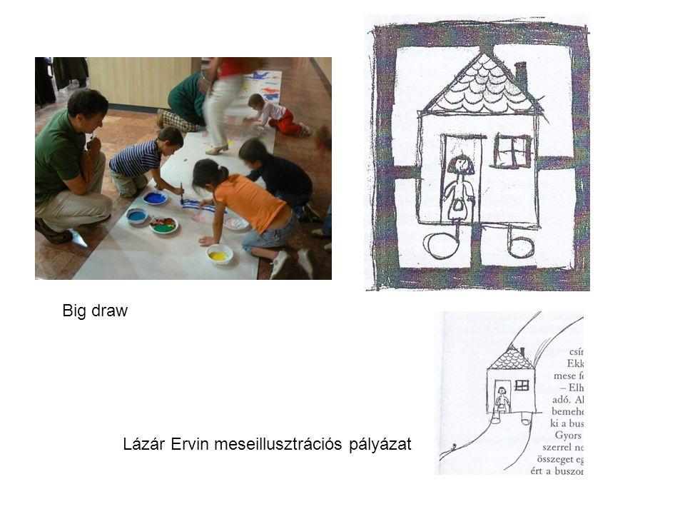 Big draw Lázár Ervin meseillusztrációs pályázat