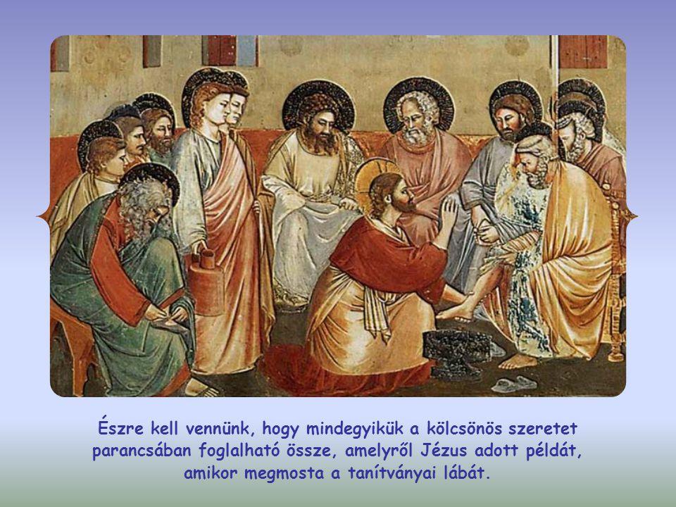 """János evangéliumában a """"tanításom és a """"parancsaim kifejezések gyakran ugyanazt jelentik."""