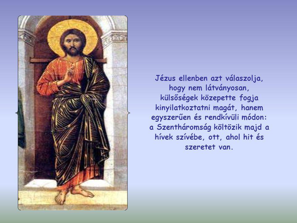 Az apostolok ugyanis azt gondolták, hogy Jézus a végső idők várva várt prófétája, aki azért jött el, hogy mindenki előtt megnyilvánuljon: Ő Izrael királya, aki Isten népének élére állva véglegesen helyreállítja Isten országát.
