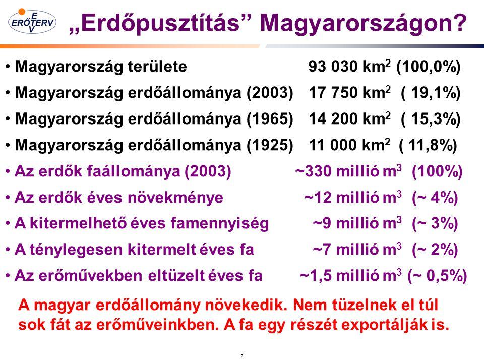 """7 """"Erdőpusztítás Magyarországon."""