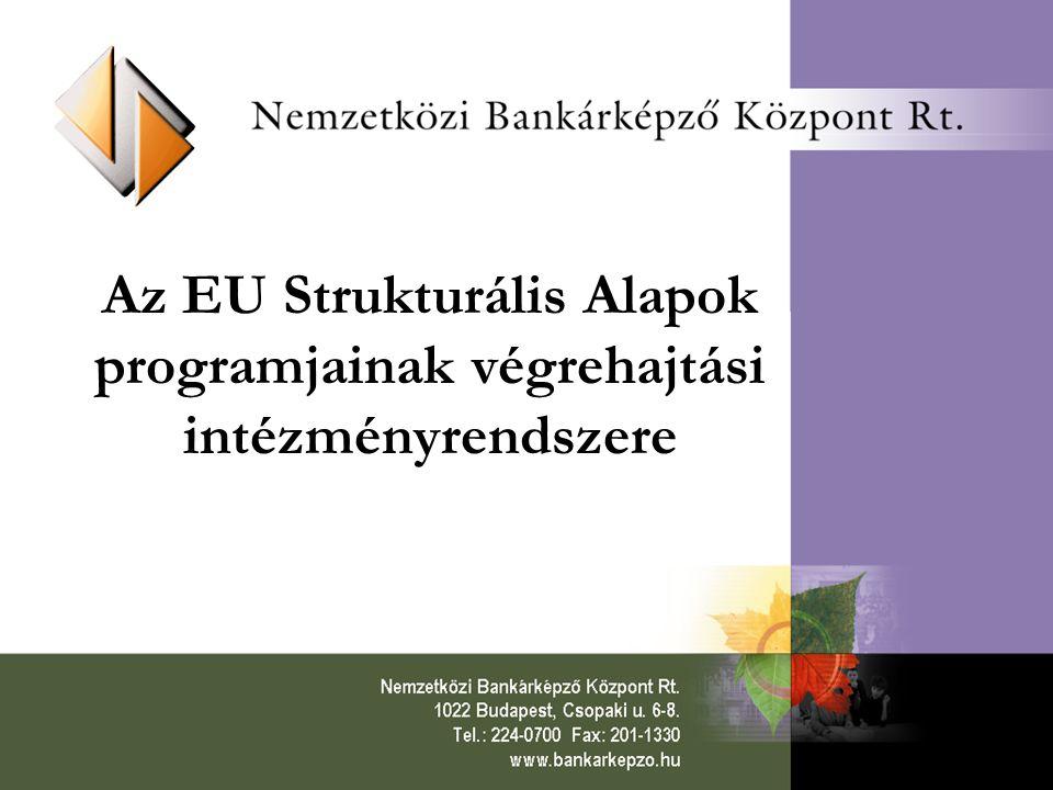 Az EU Strukturális Alapok programjainak végrehajtási intézményrendszere