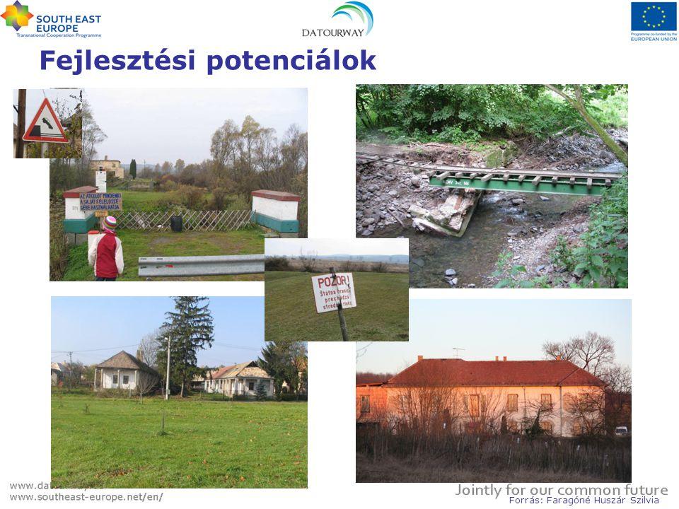 Vámosmikola - Pastovce Fejlesztési potenciálok Forrás: Faragóné Huszár Szilvia