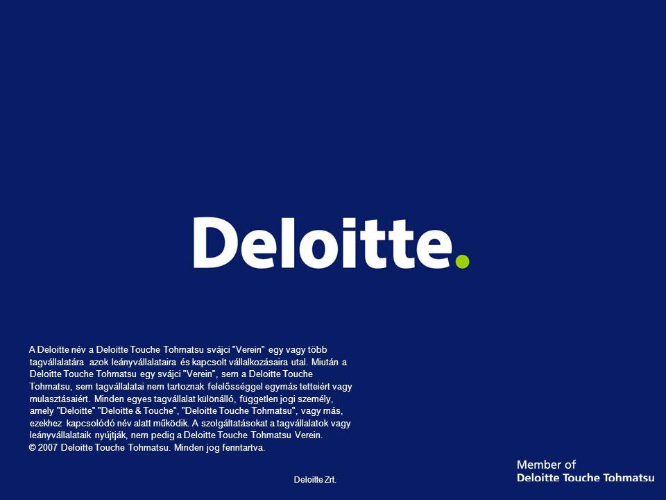 Deloitte Zrt.