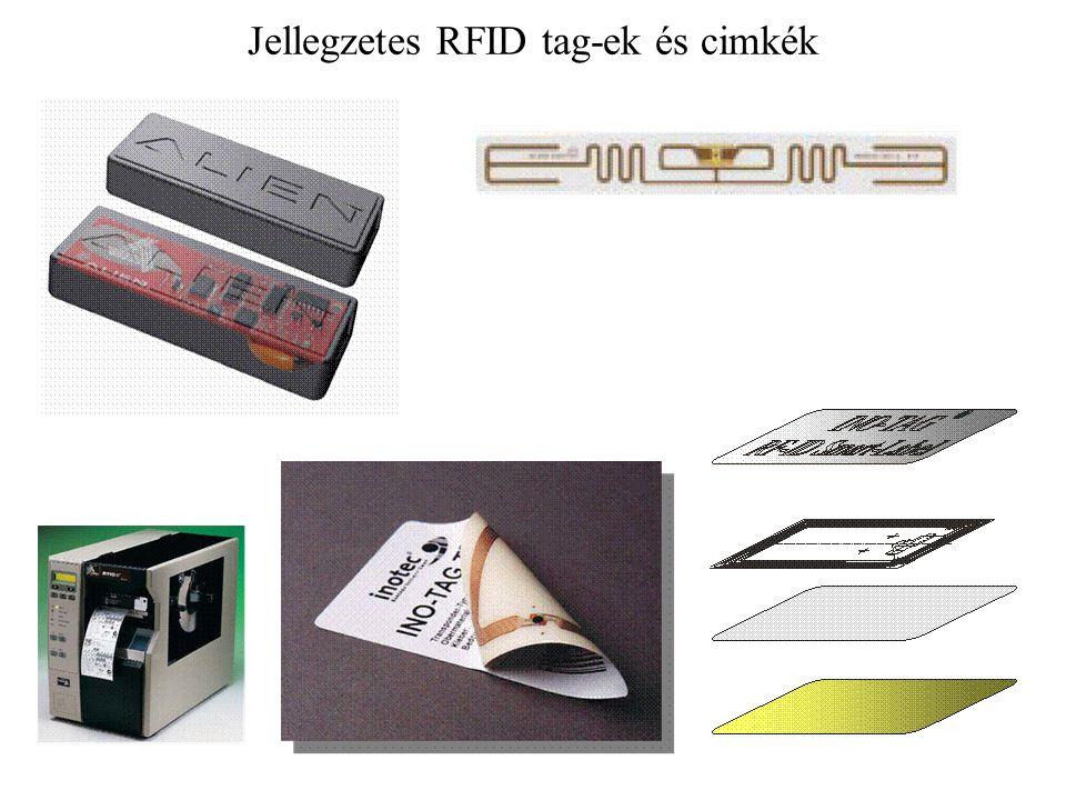 Jellegzetes RFID tag-ek és cimkék