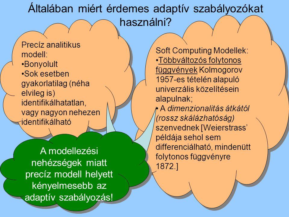 Milyen adaptív szabályozót használjunk .Klasszikus megközelítés Lyapunov II.
