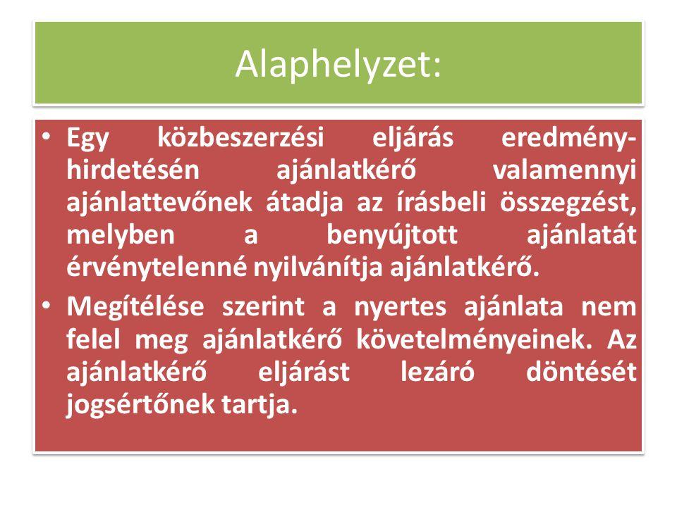 Közbeszerzési Döntőbizottság hatásköre A Közbeszerzési Döntőbizottság hatáskörébe tartozik: – Kbt.