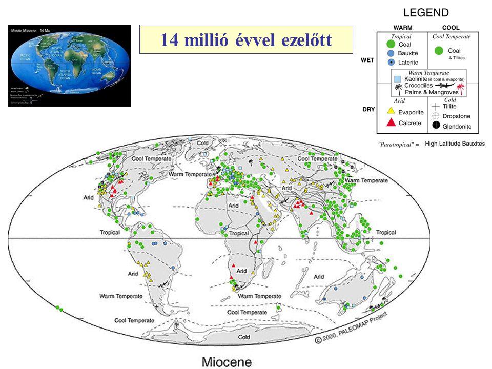 14 millió évvel ezelőtt