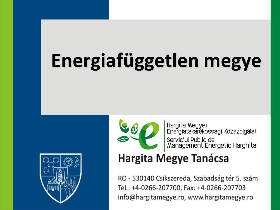 Hargita megye megújuló energia potenciálja BiomasszaVízenergiaNapenergia ƒErdei biomassza leggazdagabb megyék Suceava 647,0 ezer m3 ƒ Hargita 206,5 ezer m3 ƒ Neamţ 175,0 ezer m3 ƒ Bacău 132,0 ezer m3 Mezőgazdasági biomassza legszegényebb megyék ƒ Hargita 41,004 ezer to ƒ Kovászna 73,000 ezer to.