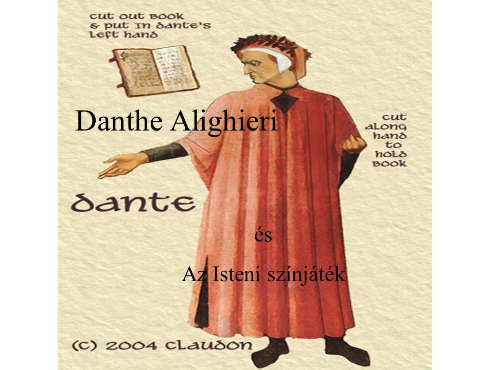 Itt kezdődik a színjáték, írta DANTE ALIGHIERI születésére nézve firenzei, erkölcseit tekintve nem az.