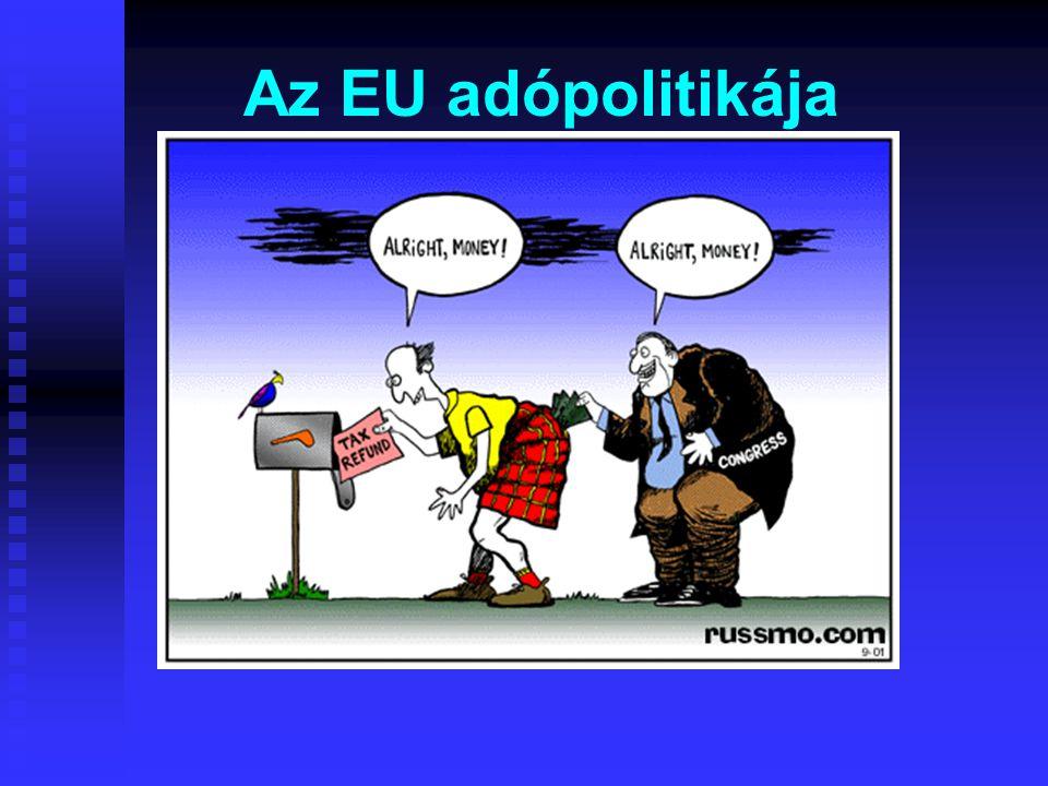 Az EU adópolitikája