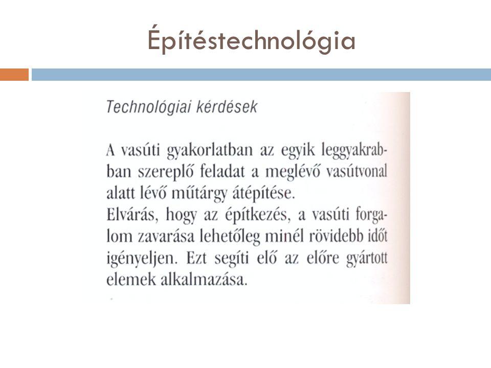 Építéstechnológia
