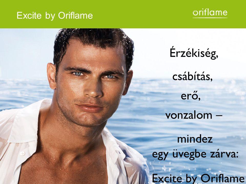 Érzékiség, csábítás, vonzalom – erő, mindez egy üvegbe zárva: Excite by Oriflame