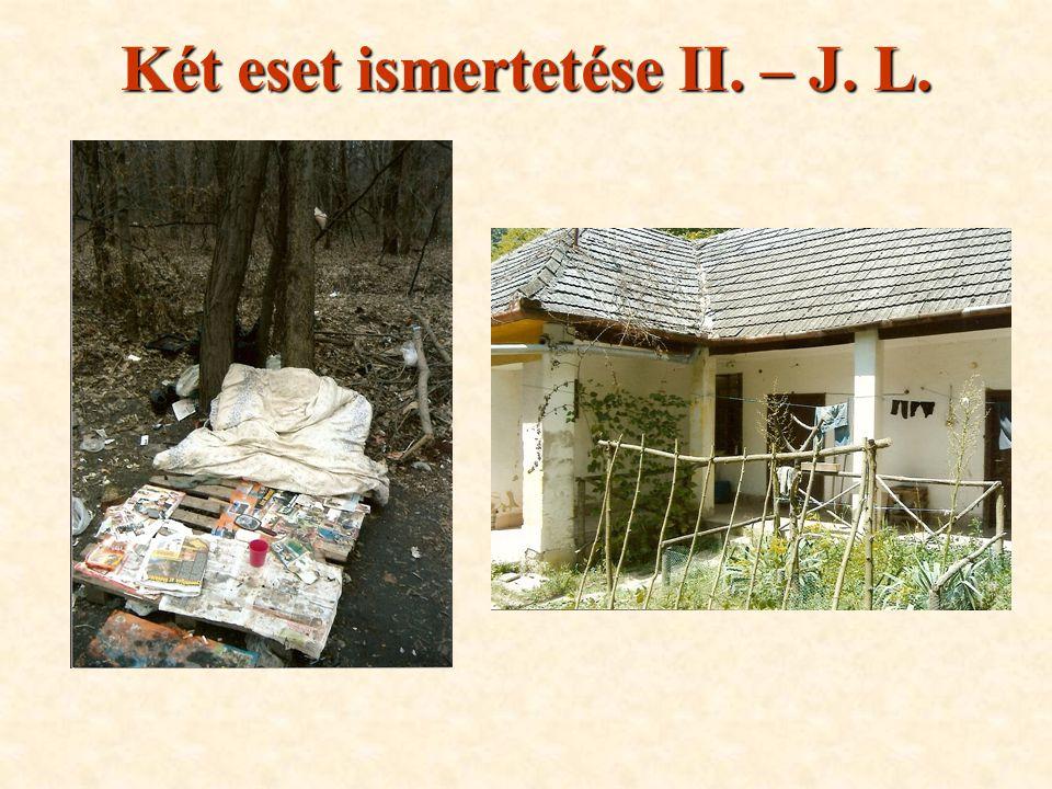 Két eset ismertetése II. – J. L.
