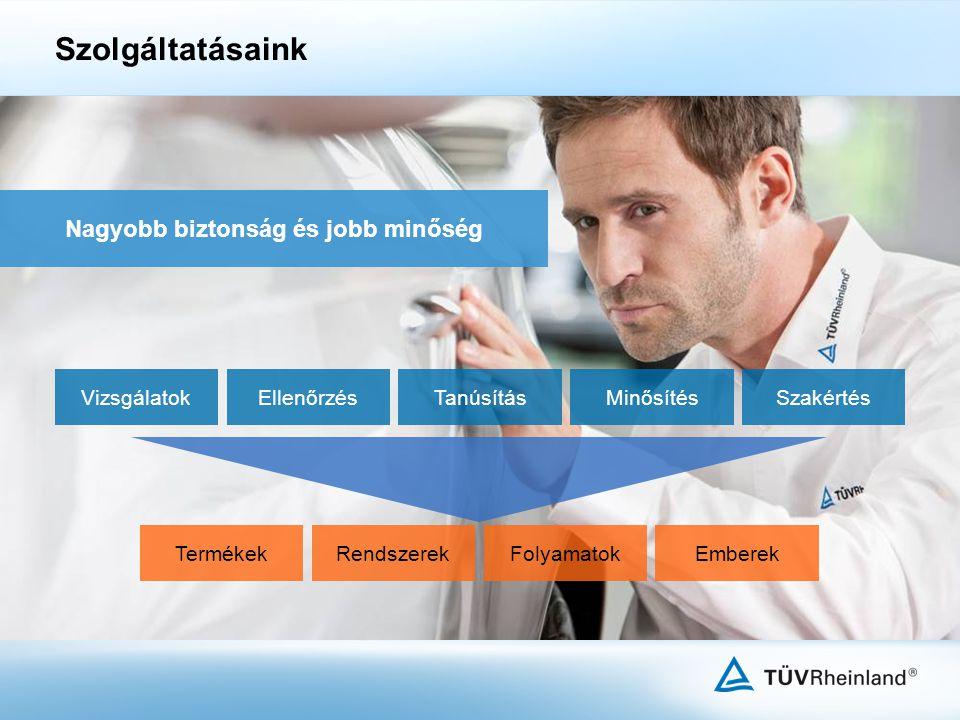Bálint Ágnes Értékesítési és Marketing igazgató TÜV Rheinland InterCert Kft.