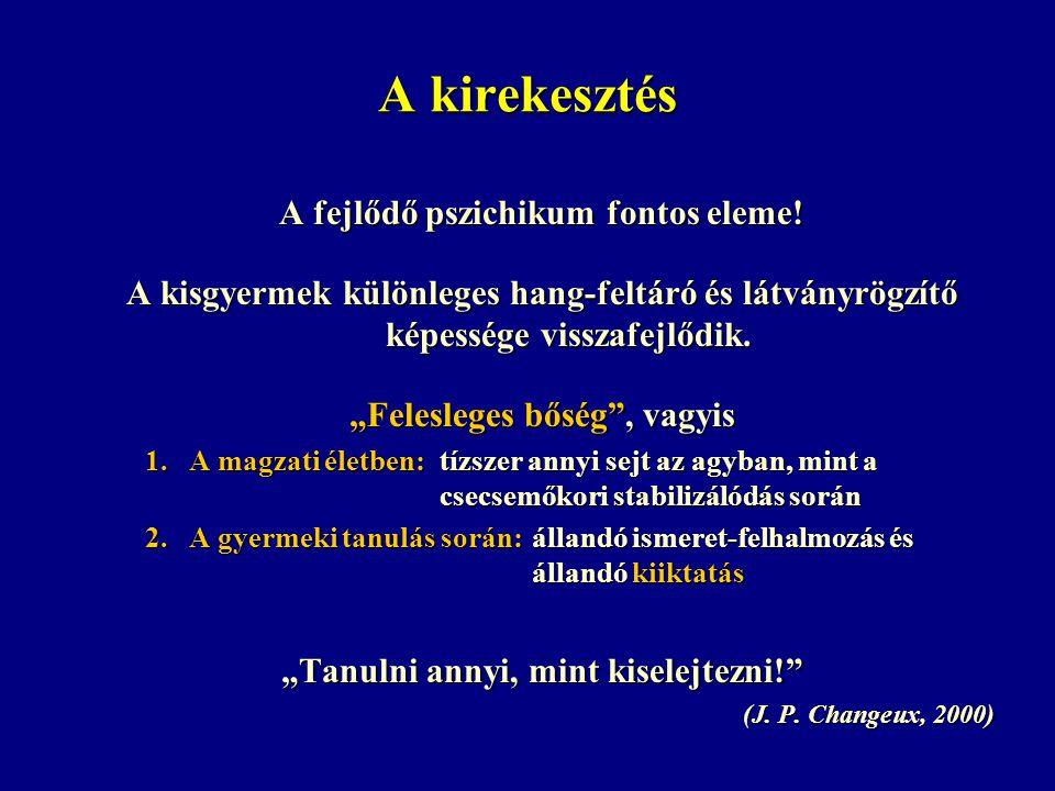 A kirekesztés A fejlődő pszichikum fontos eleme.