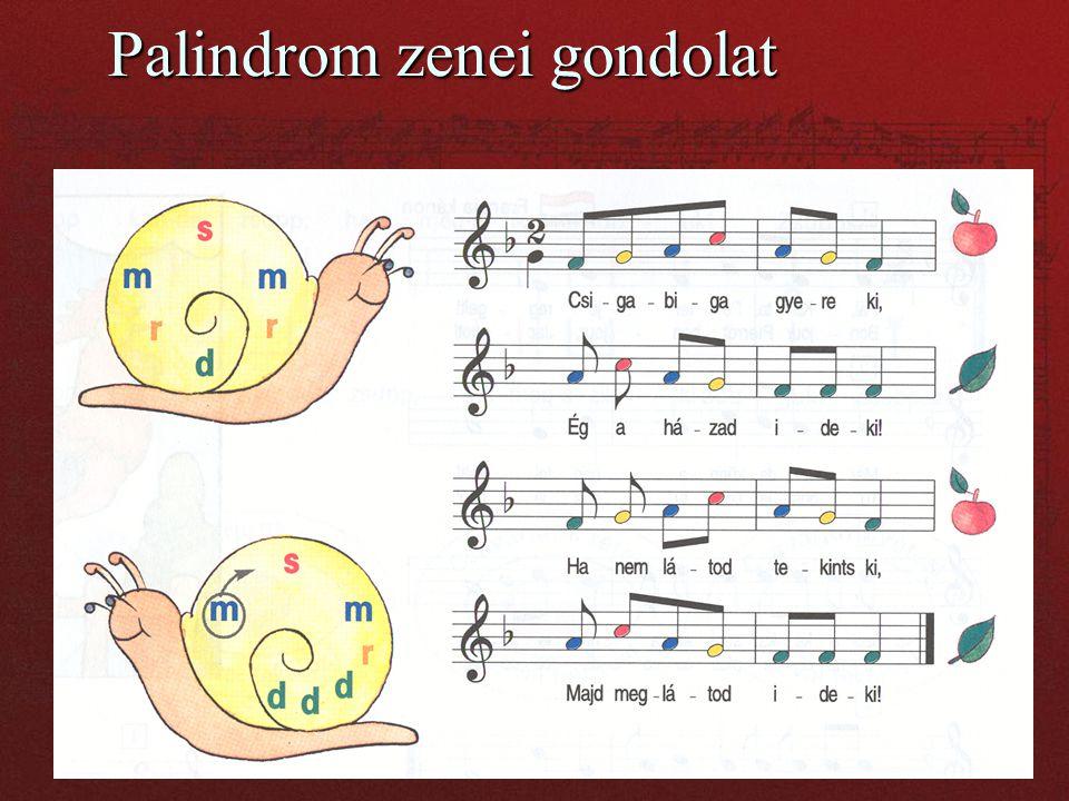 Palindrom zenei gondolat