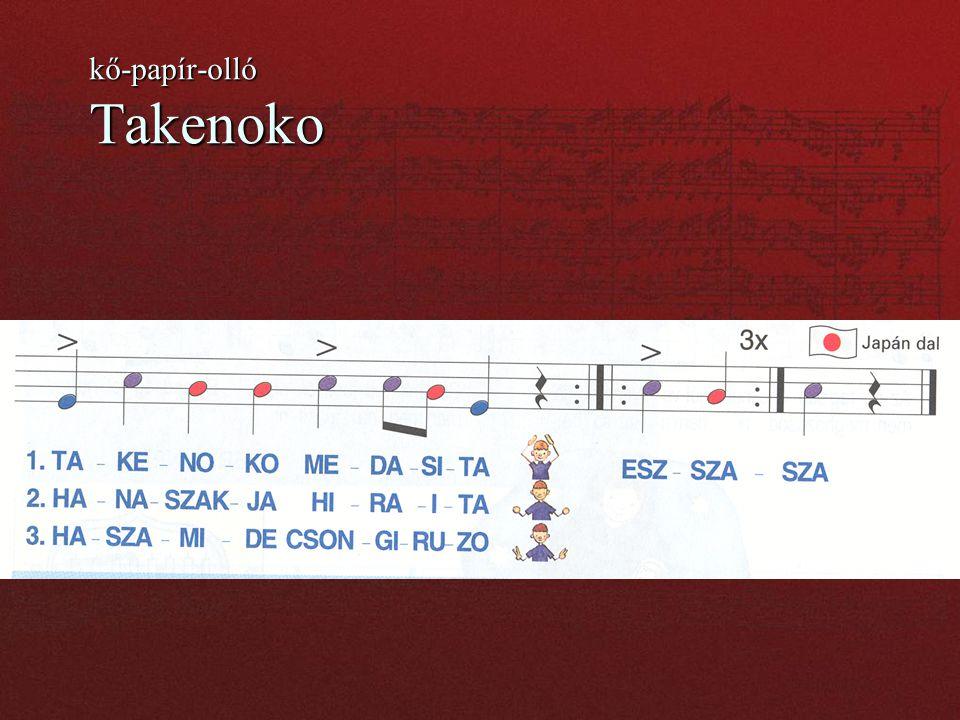 kő-papír-olló Takenoko