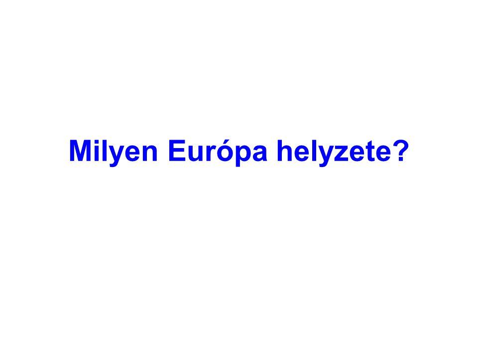 Milyen Európa helyzete?