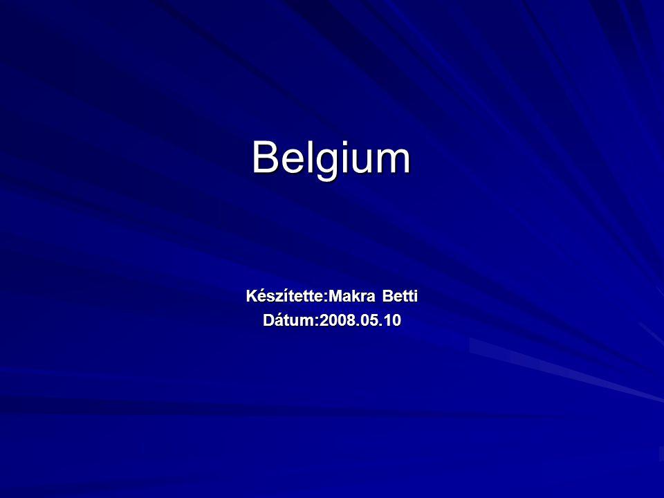 Belgium Készítette:Makra Betti Dátum:2008.05.10